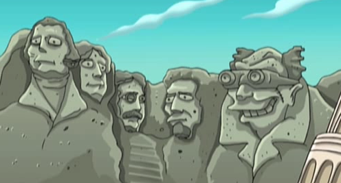 Futurama_Mt_Rushmore