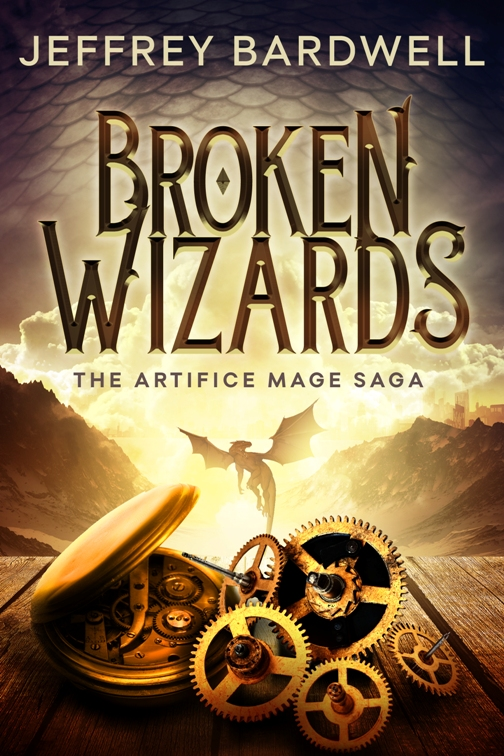 Broken Wizards cover