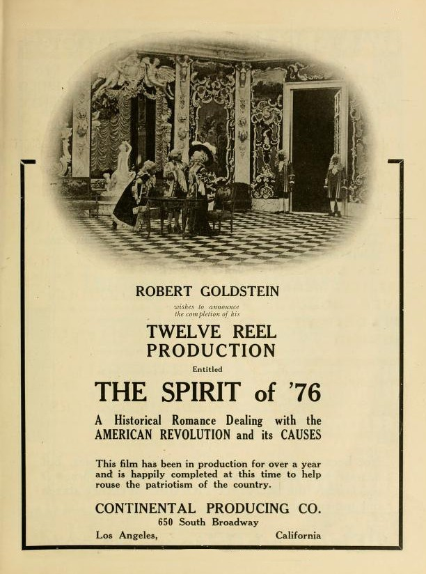 Ad_for_1917_silent_film_The_Spirit_of_'76